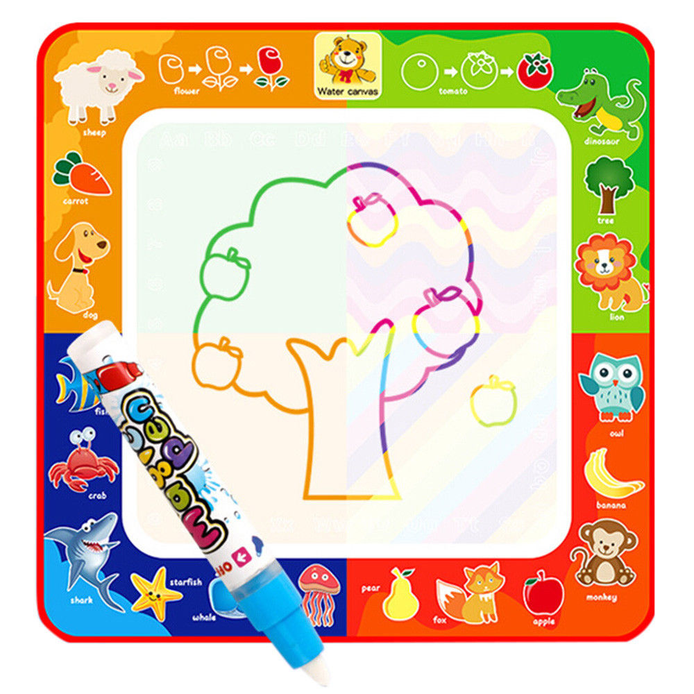 Children Education Magical Water Painting Board Magic Graffiti Color Paint Toy