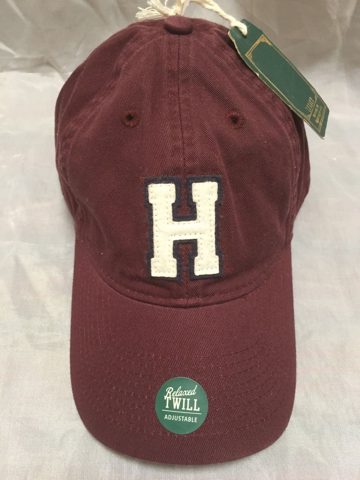 Harvard Business School Hat Baseball Cap Burgundy Adjustable NWT