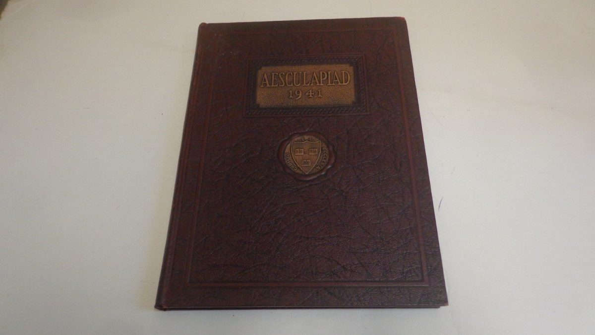 1941 Harvard Medical School Yearbook, Boston, MA: Aesculapiad
