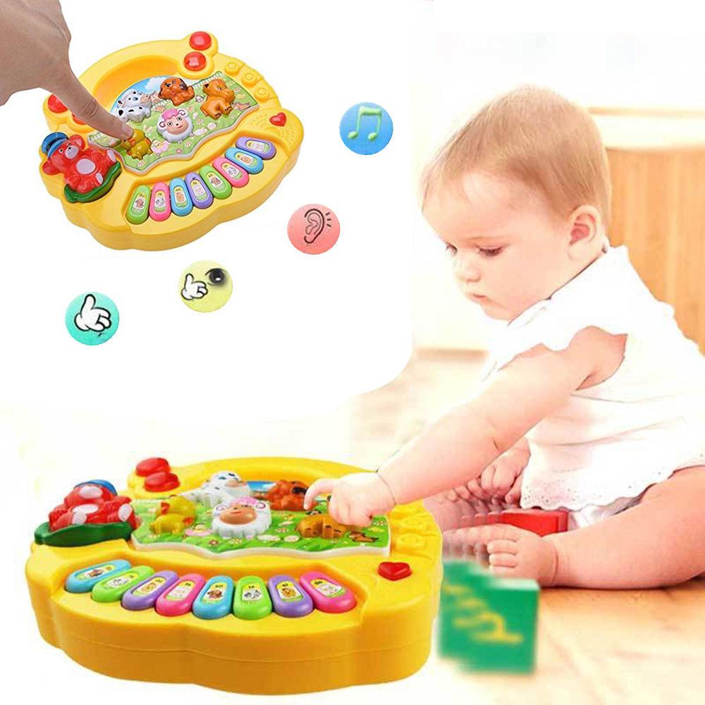 Baby Kids Musical Educational Animal Farm Piano Developmental Music Toy Gift US