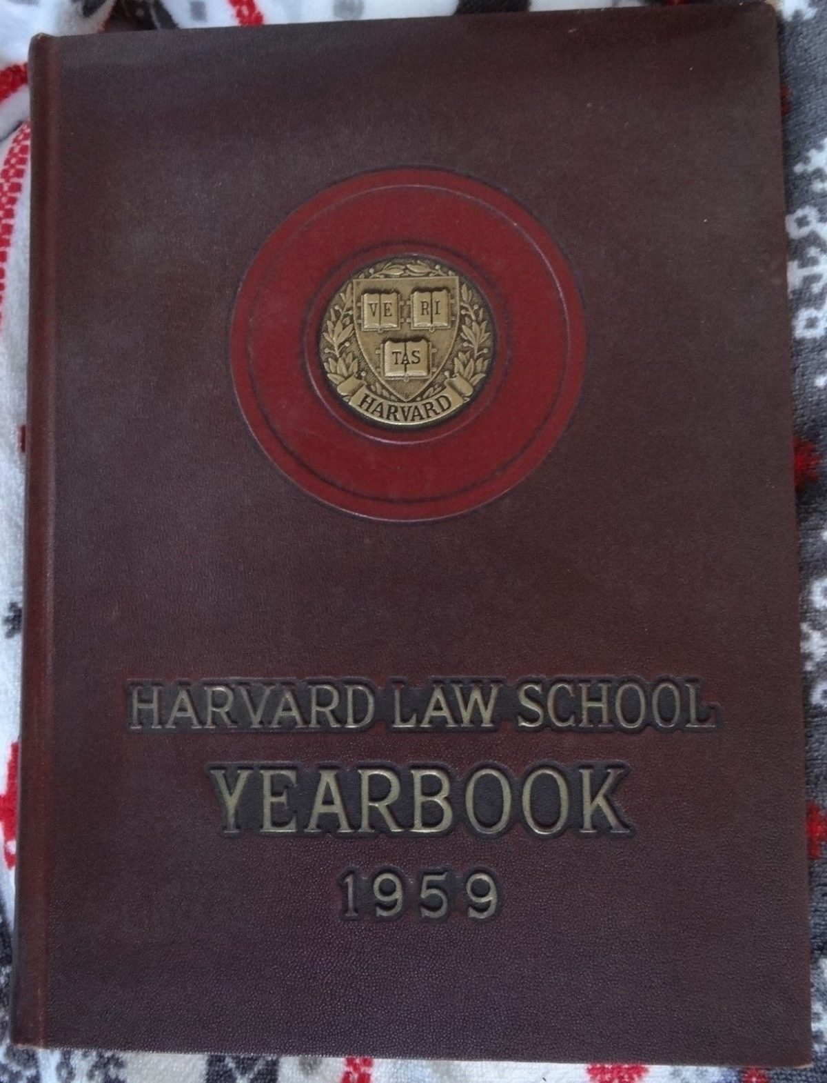 Harvard Law School 1959 Yearbook, Cambridge Massachusetts