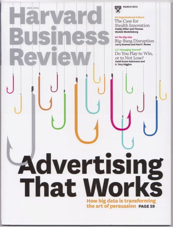 Harvard Business Review Magazine  March 2013