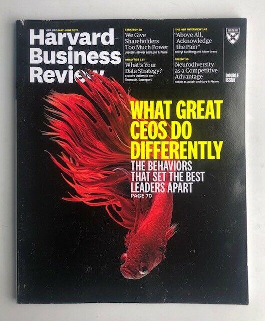 Harvard Business Review Magazine May/June 2017