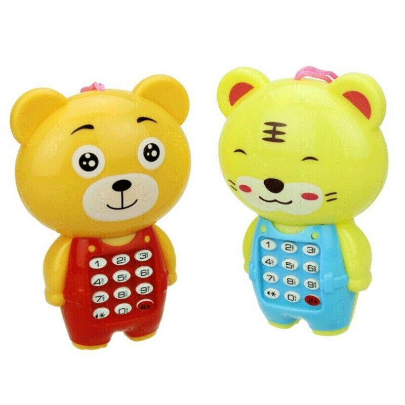 Baby Kids Cute Cartoon Electronic Music Educational Phone Toy Play Fun Gift Hot