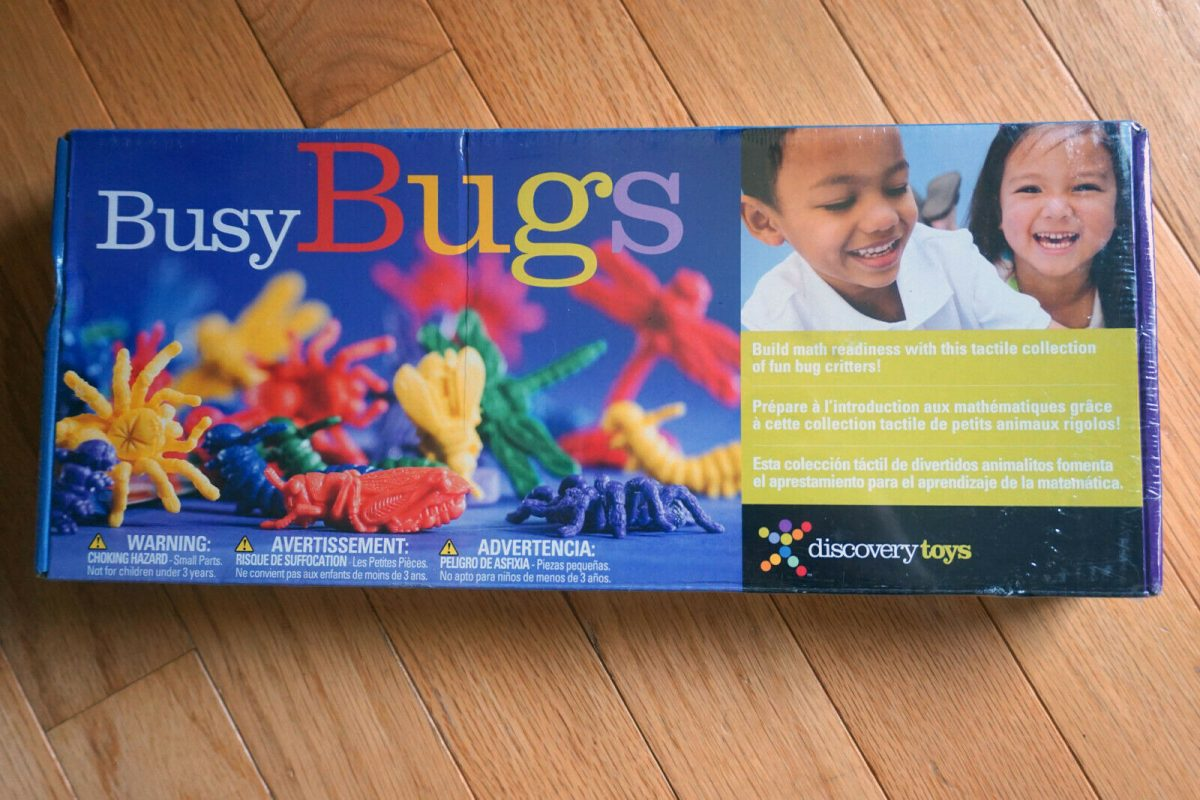 Discovery Toys Busy Bugs Educational Counting Set Learning Toy Game BRAND NEW