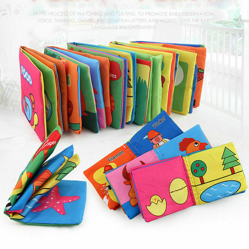 Intelligence development Cloth Cognize Book Educational Toy for child 1