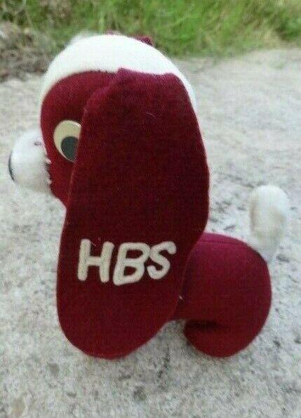 Vintage Harvard Business School HBS Collegiate Personality Pet Felt Dog -50's? 1
