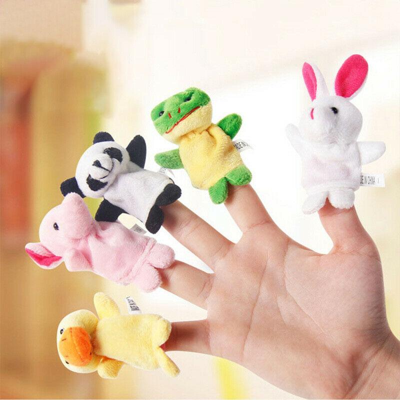 10 Pcs Kids Baby Finger Animal Educational Story Toys Puppets Cloth Child Plush 1