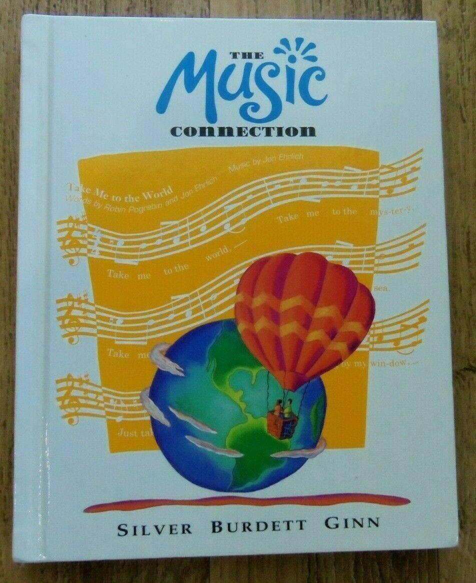 Silver Burdett Ginn The Music Connection Sixth Grade Educational Book