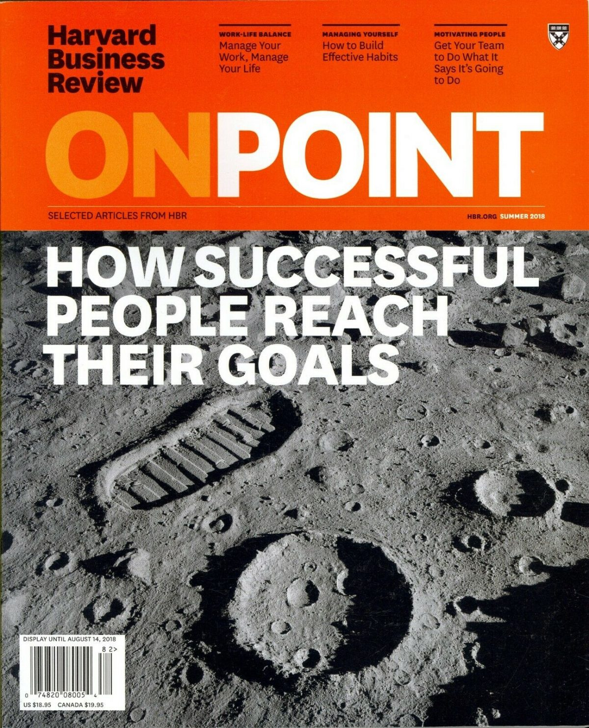 Harvard Business Review OnPoint How Successful People Reach Their Goals 2018