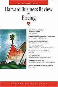 Harvard Business Review on Pricing-ExLibrary
