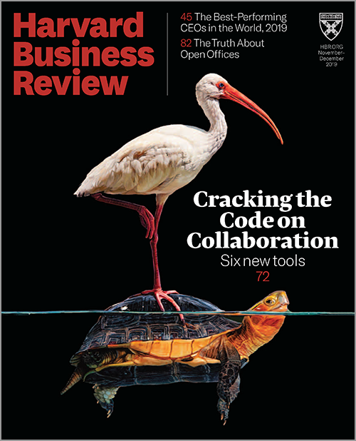 Harvard Business Review Nov/Dec 2019 ~ Cracking the Code on Collaboration