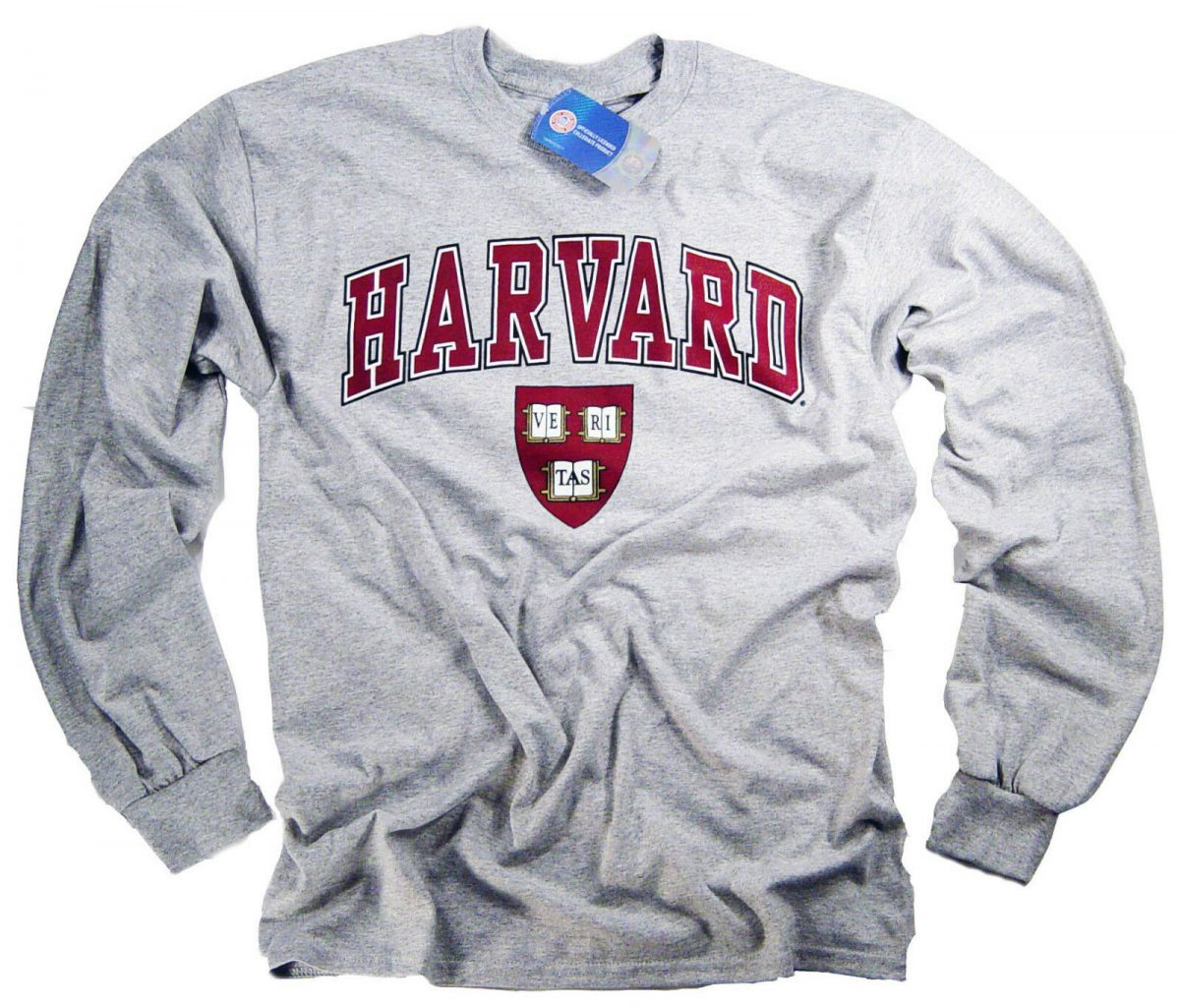 Harvard T-Shirt College University Crimson Crew NCAA Officially Licensed 1