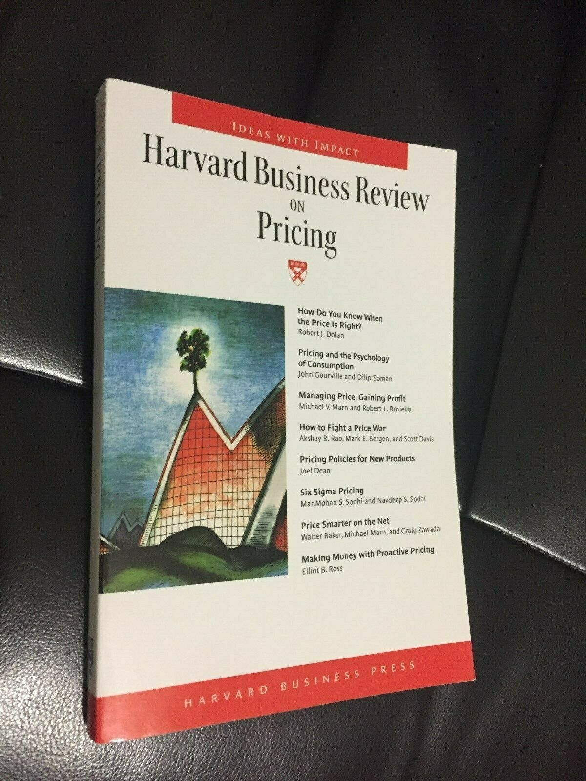 Harvard Business Review on Pricing Press Price Optimization Science Analysis