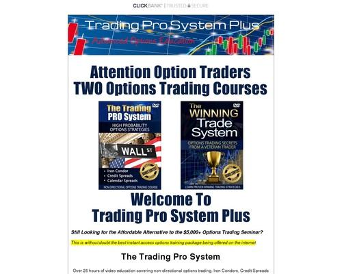 Trading Pro System - Stock Market Options Trading Education 1