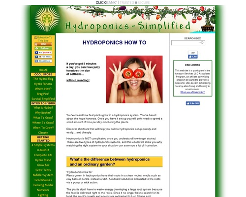 HYDROPONICS HOW TO- SIMPLY THE BEST GUIDE OUT THERE 1
