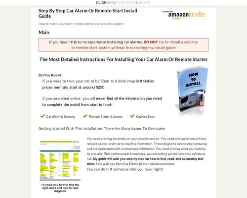 How To Install A Car Alarm, Remote Start, Or Keyless Entry System