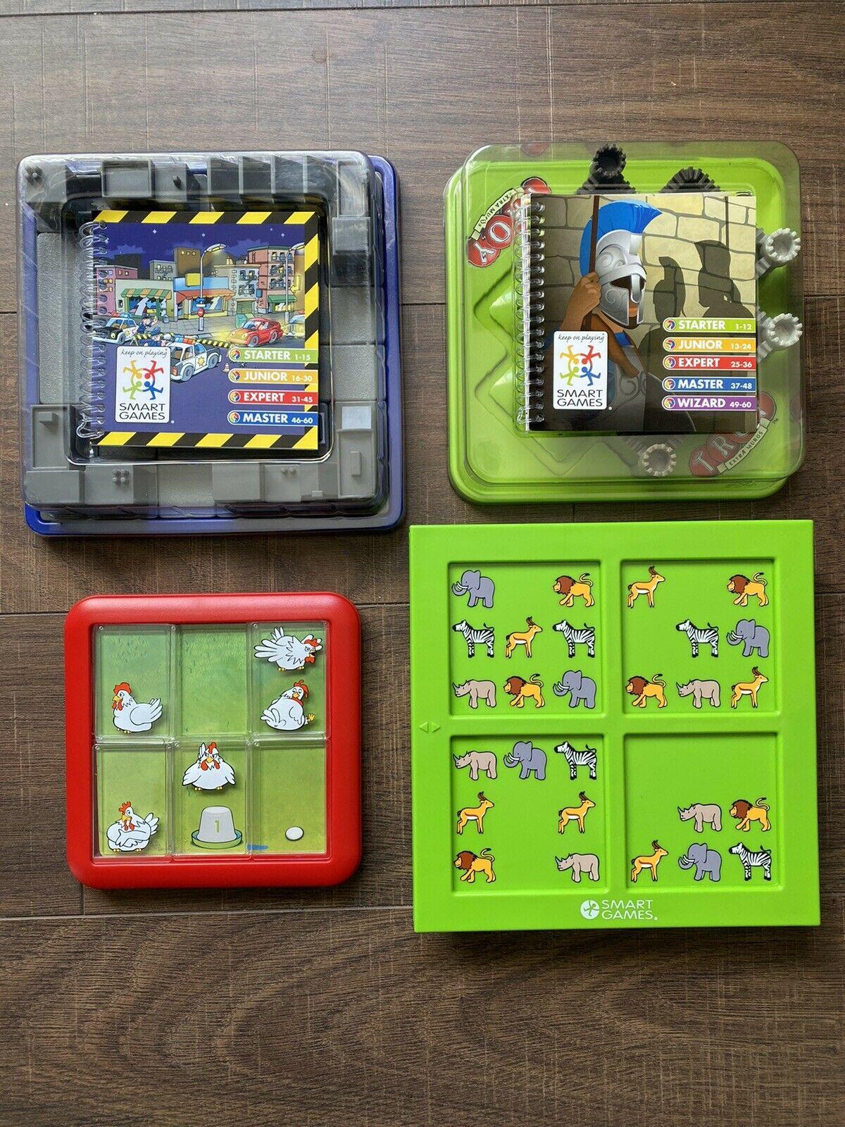 4 SmartGames Bundle – Educational Games