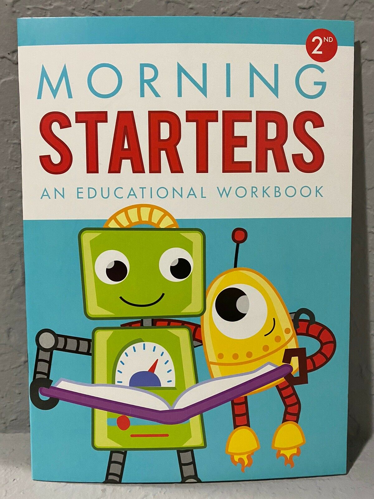 NEW Second Grade (2nd) Morning Starters Educational/Learning Workbook