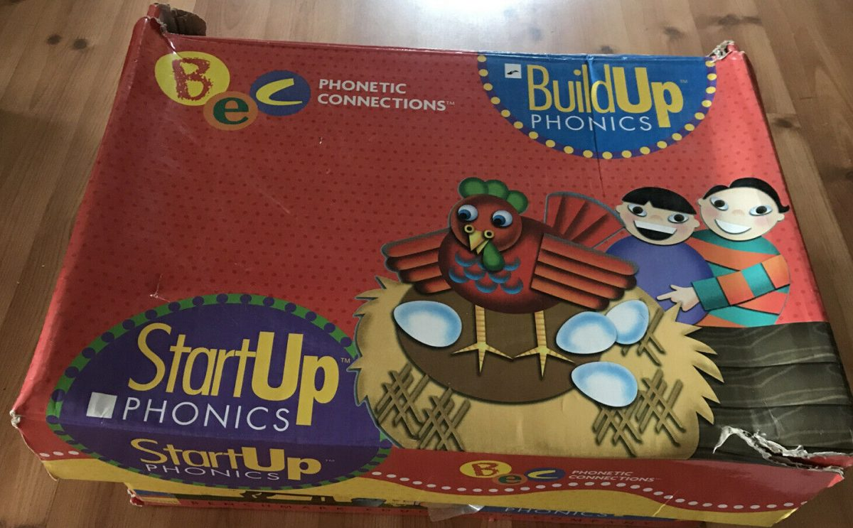 Benchmark Education Build Up Phonics Phonetic Connections Literacy Kit VGUC 1