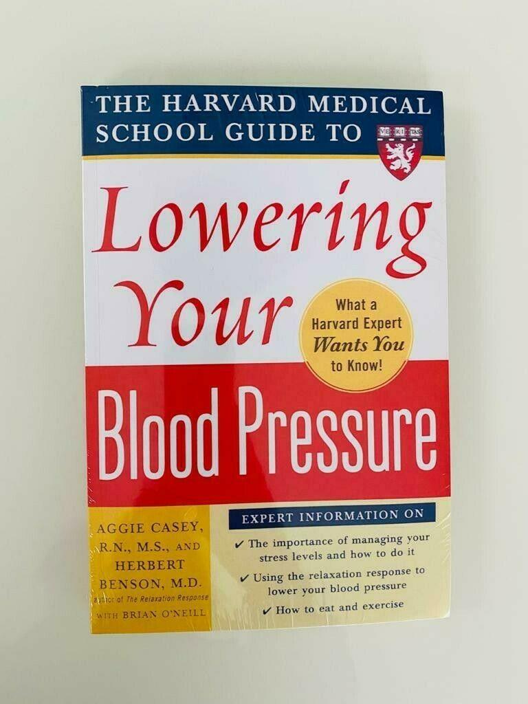 Harvard Medical School Guides: Lowering Your Blood Pressure by Herbert Benson... 1