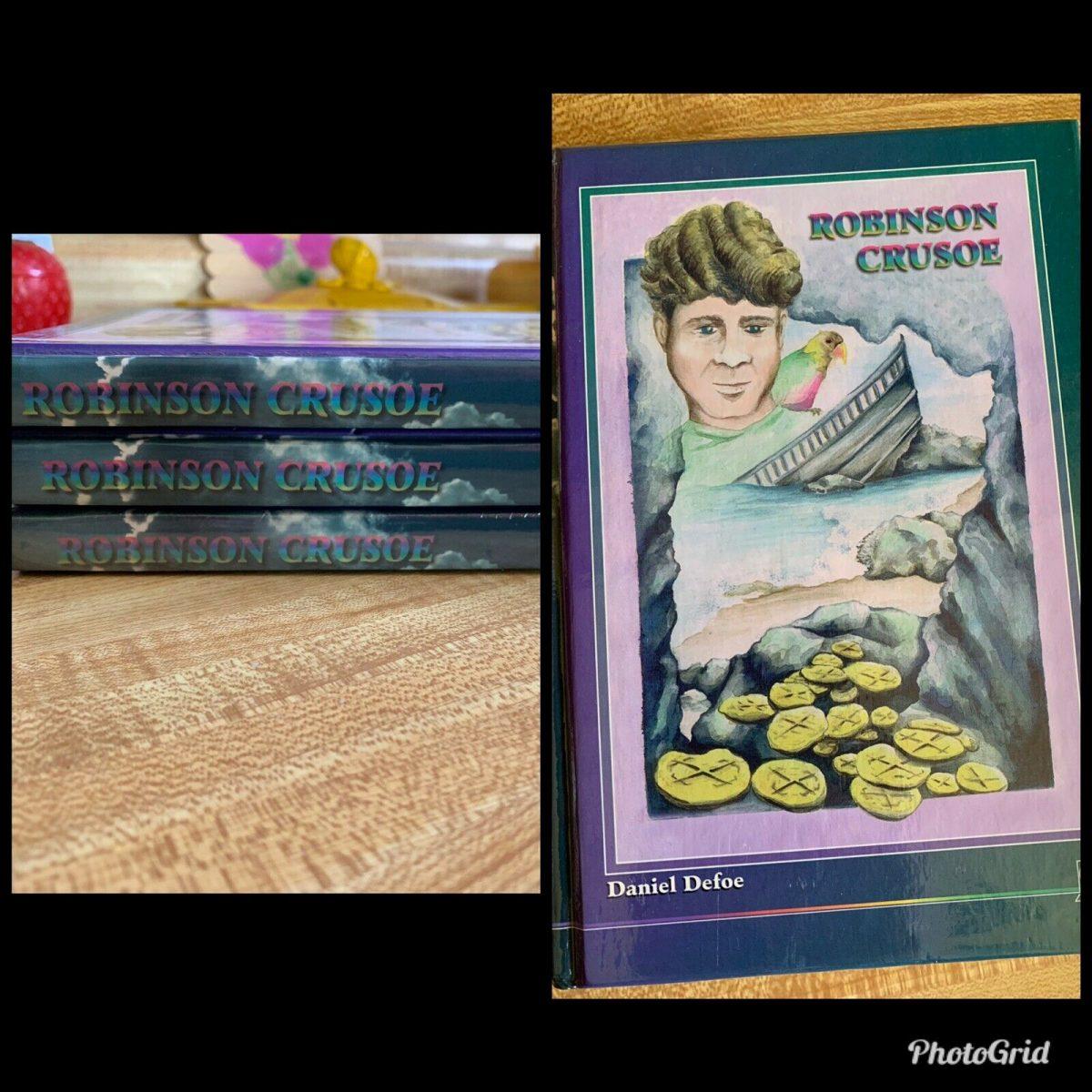 Accelerated Christian Education ACE robinson Crusoe Reading Book