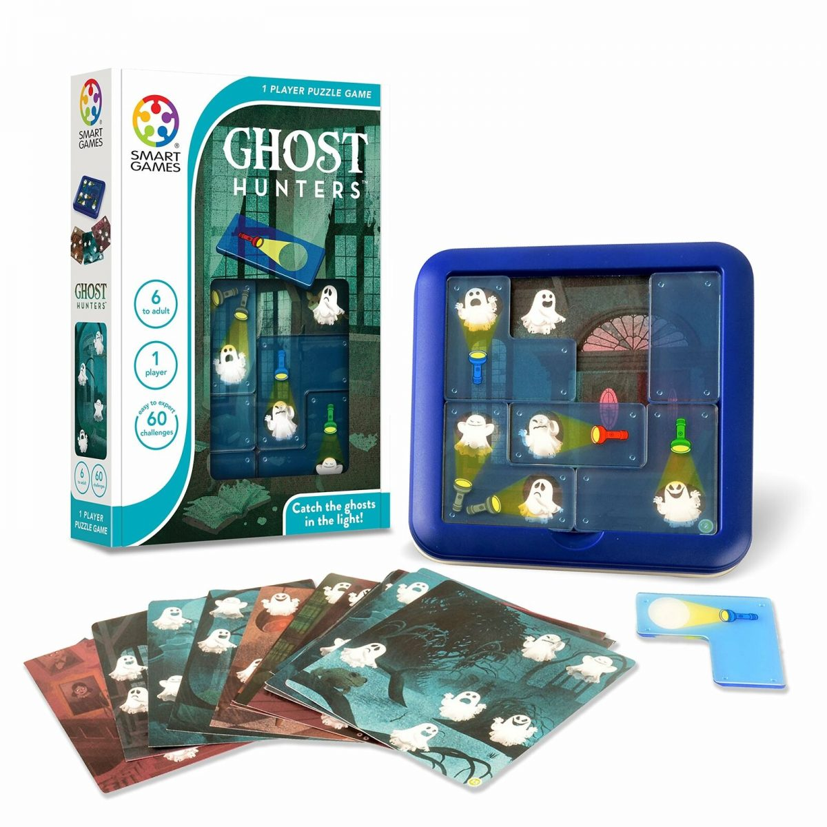 SmartGames Ghost Hunters Children Kids Educational Learning Game Puzzle Age 6+