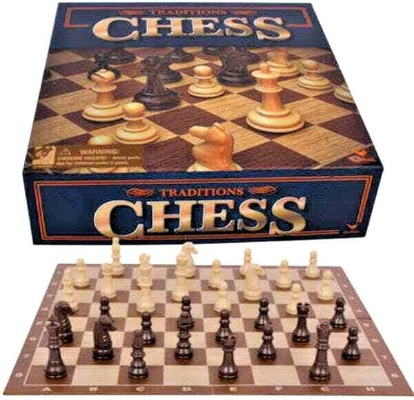 Classic CHESS Board Game Set Family Educational Fun Gift Traditional New