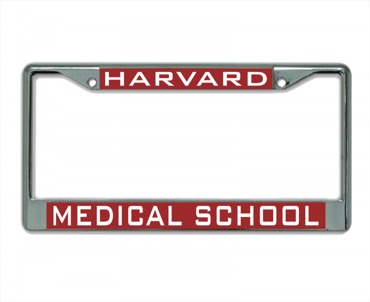 Harvard University MEDICAL SCHOOL License Plate Frame 1