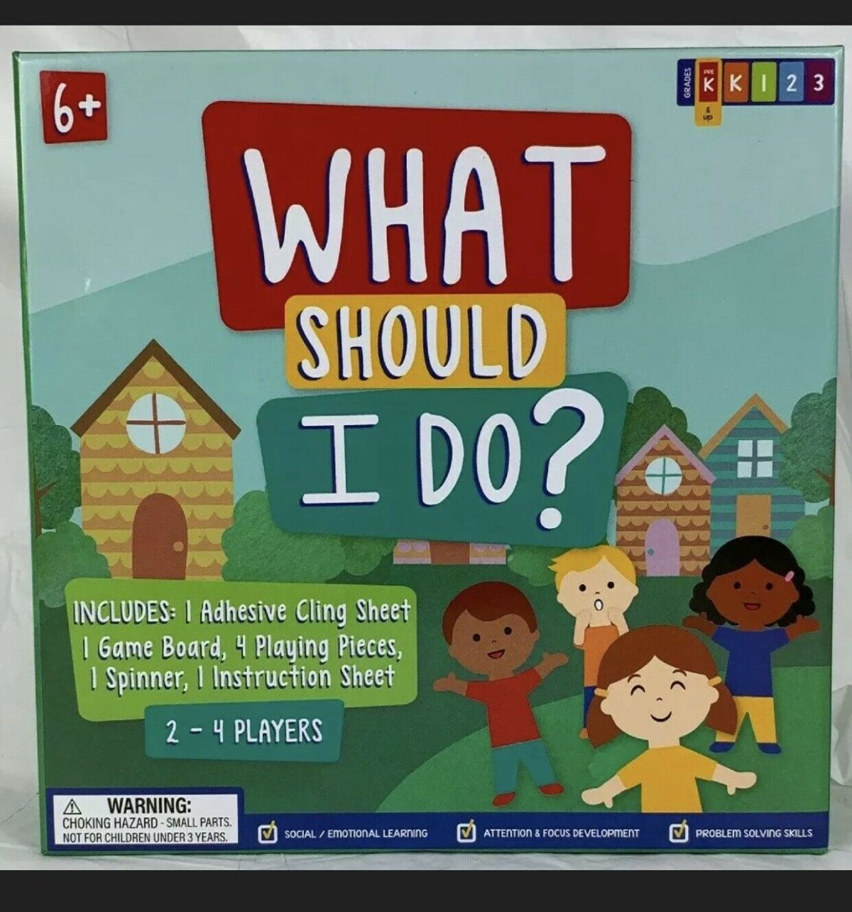 What Should I Do? Educational Board Game New 1