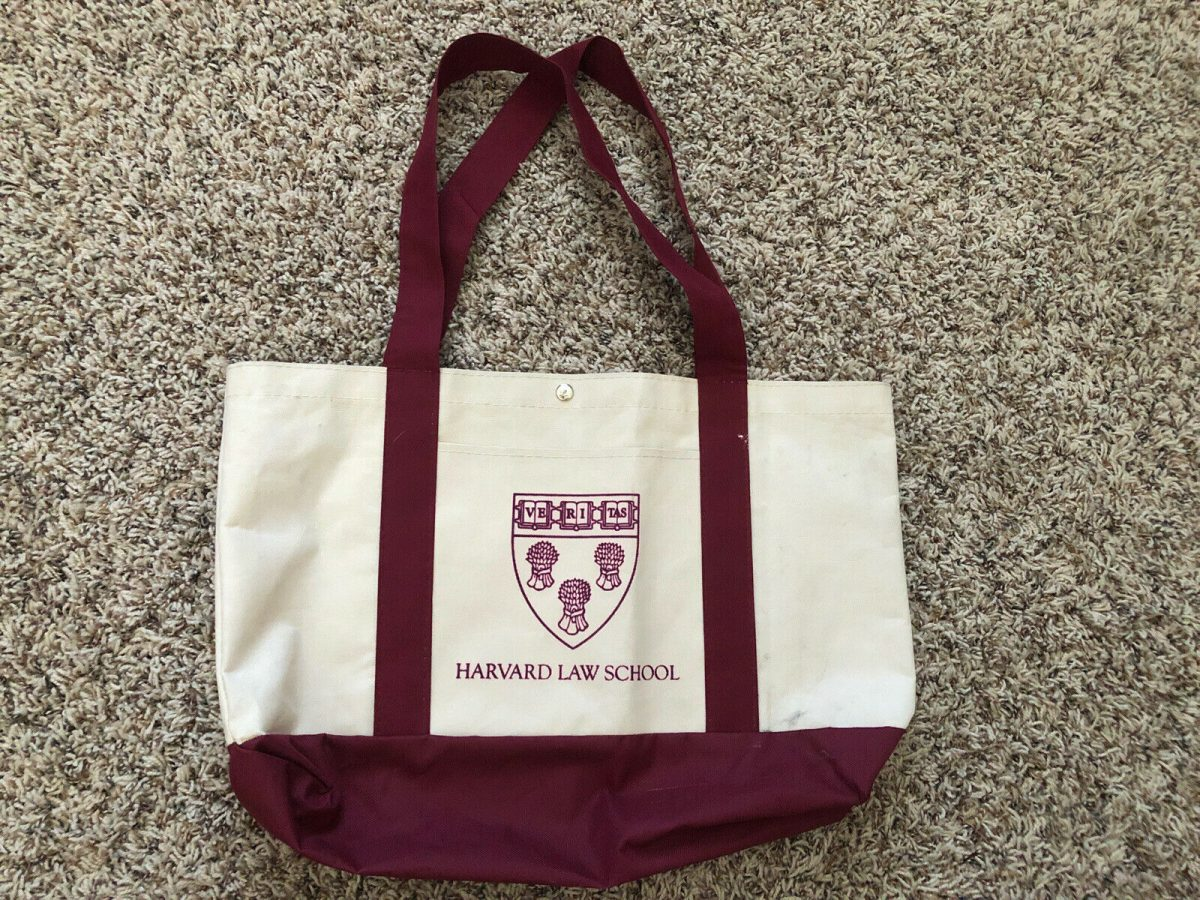 Harvard Veritas Law School Tot Bag 1