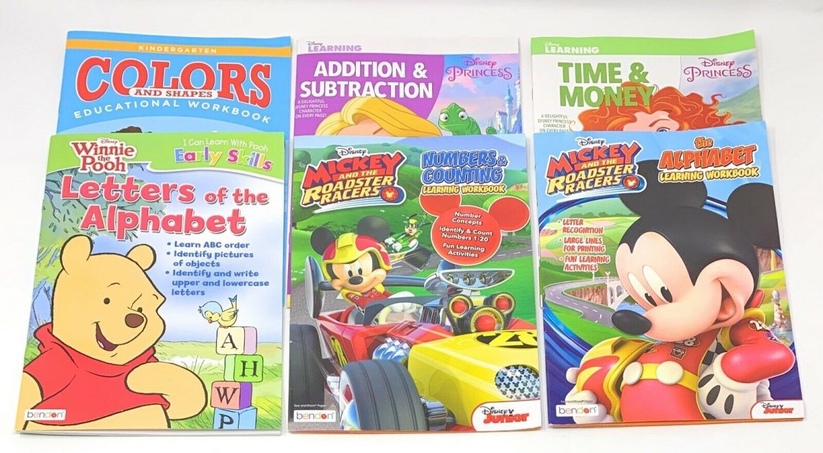 NEW Kid's Learning and Education Workbooks ~ Choose Your Favorite!