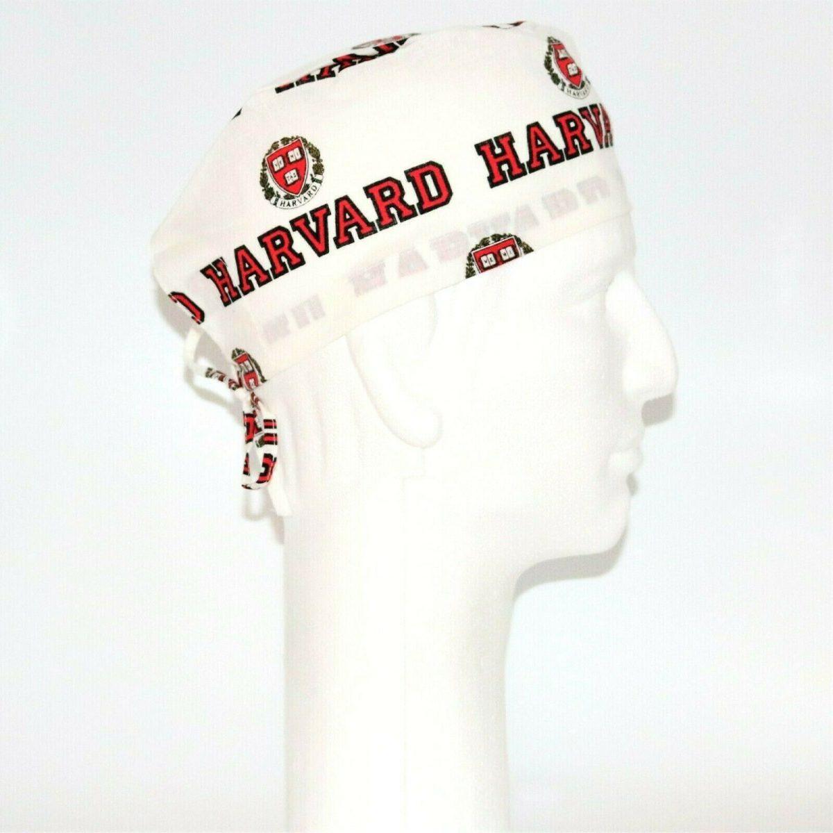 Harvard Theme Scrub Hat