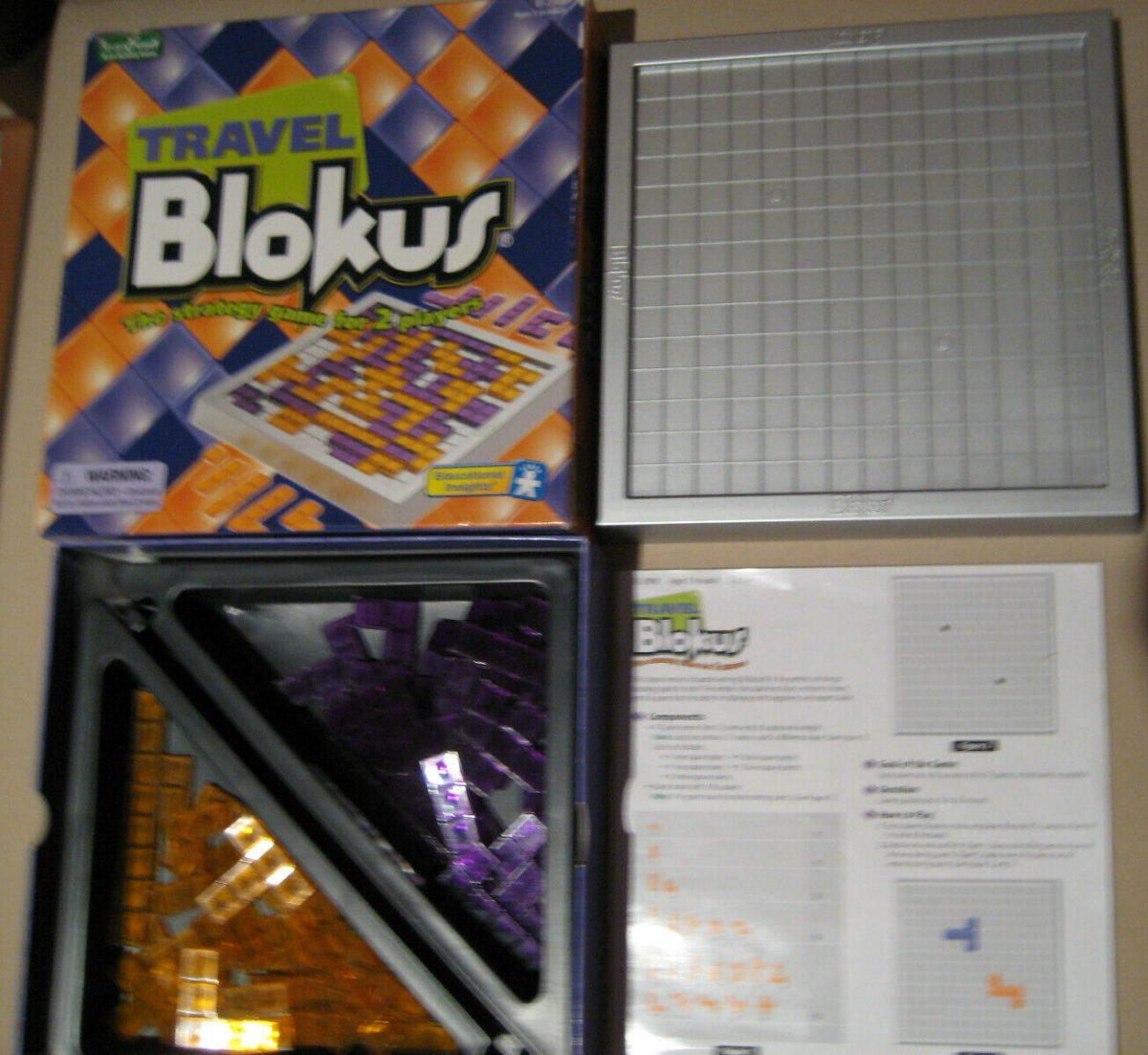 Travel Blokus Game  Educational Family Fun