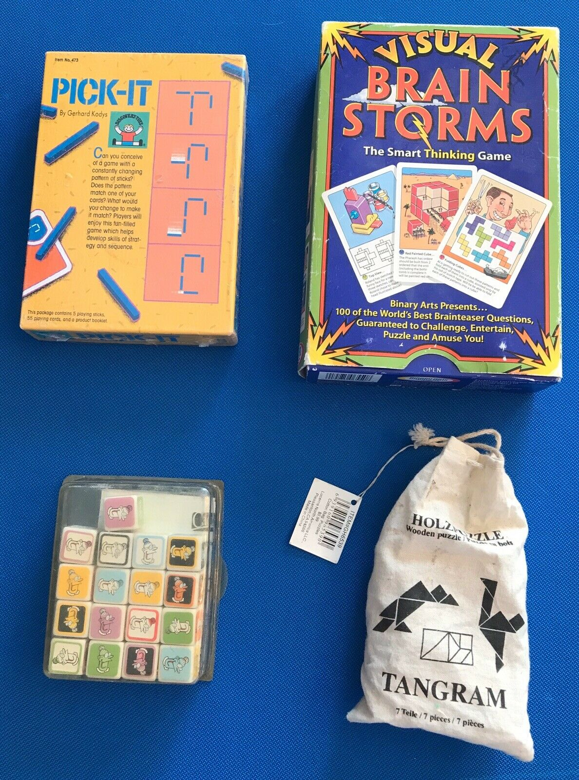Lot of 4 Children's Educational Games Some NEW