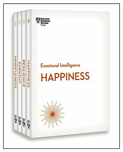 Harvard Business Review Emotional Intelligence Collection 4 Books HBR Emotional