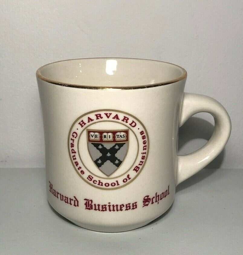 HARVARD BUSINESS SCHOOL Coffee Mug – Vintage – Harvard University
