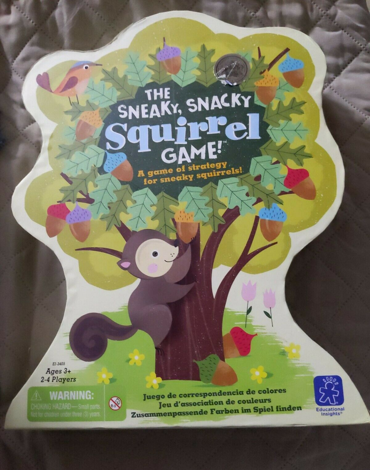 Educational Insights The Sneaky, Snacky Squirrel Game 100% complete