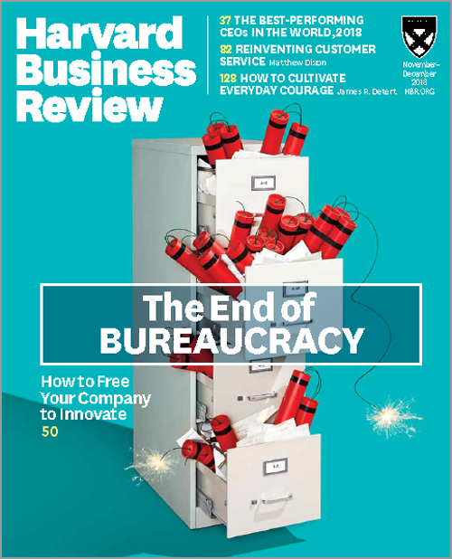 Harvard Business Review November / December 2018 Issue 6 HBR Magazine *Brand New