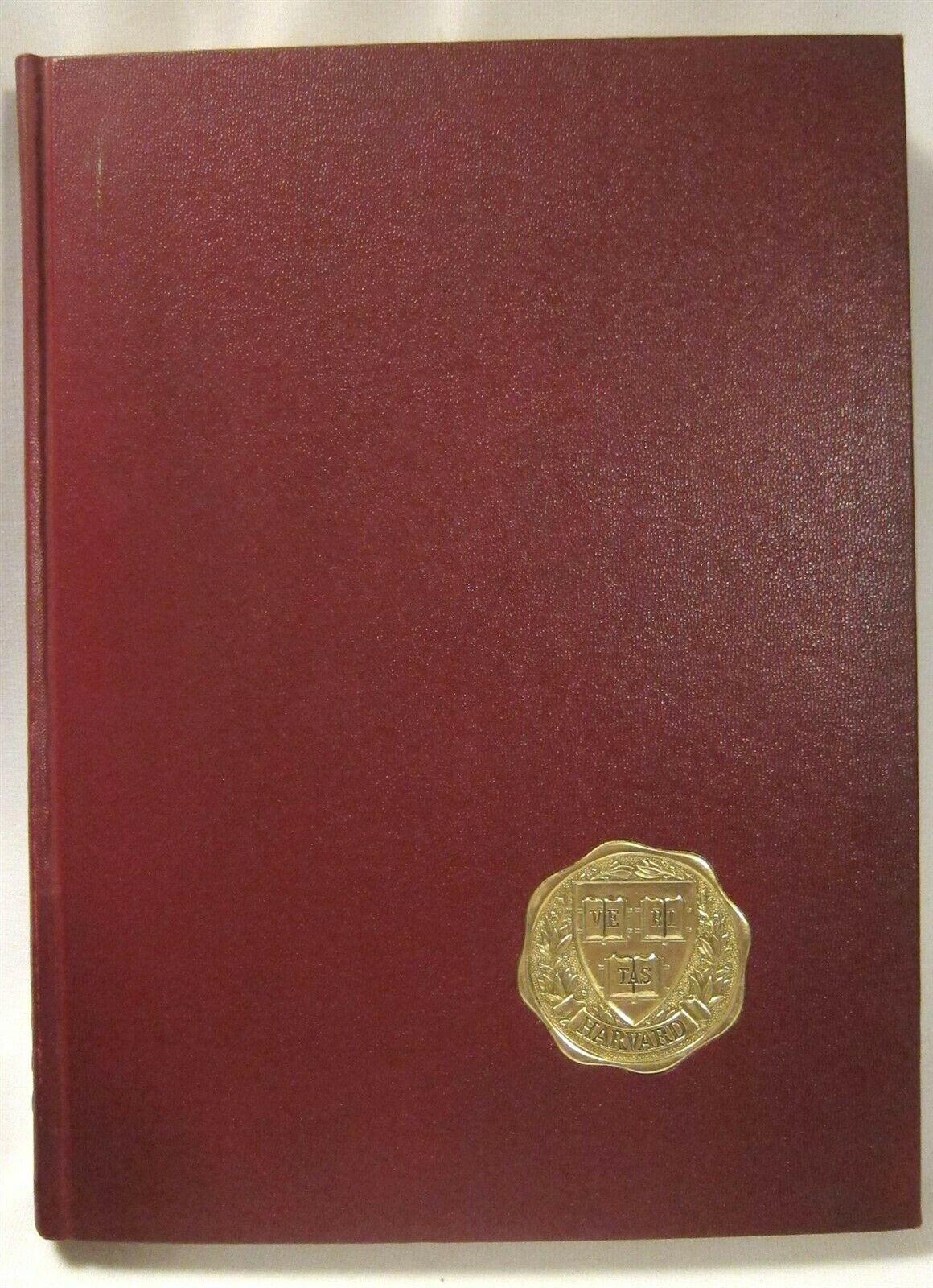 Harvard Law School Yearbook ~ 1966