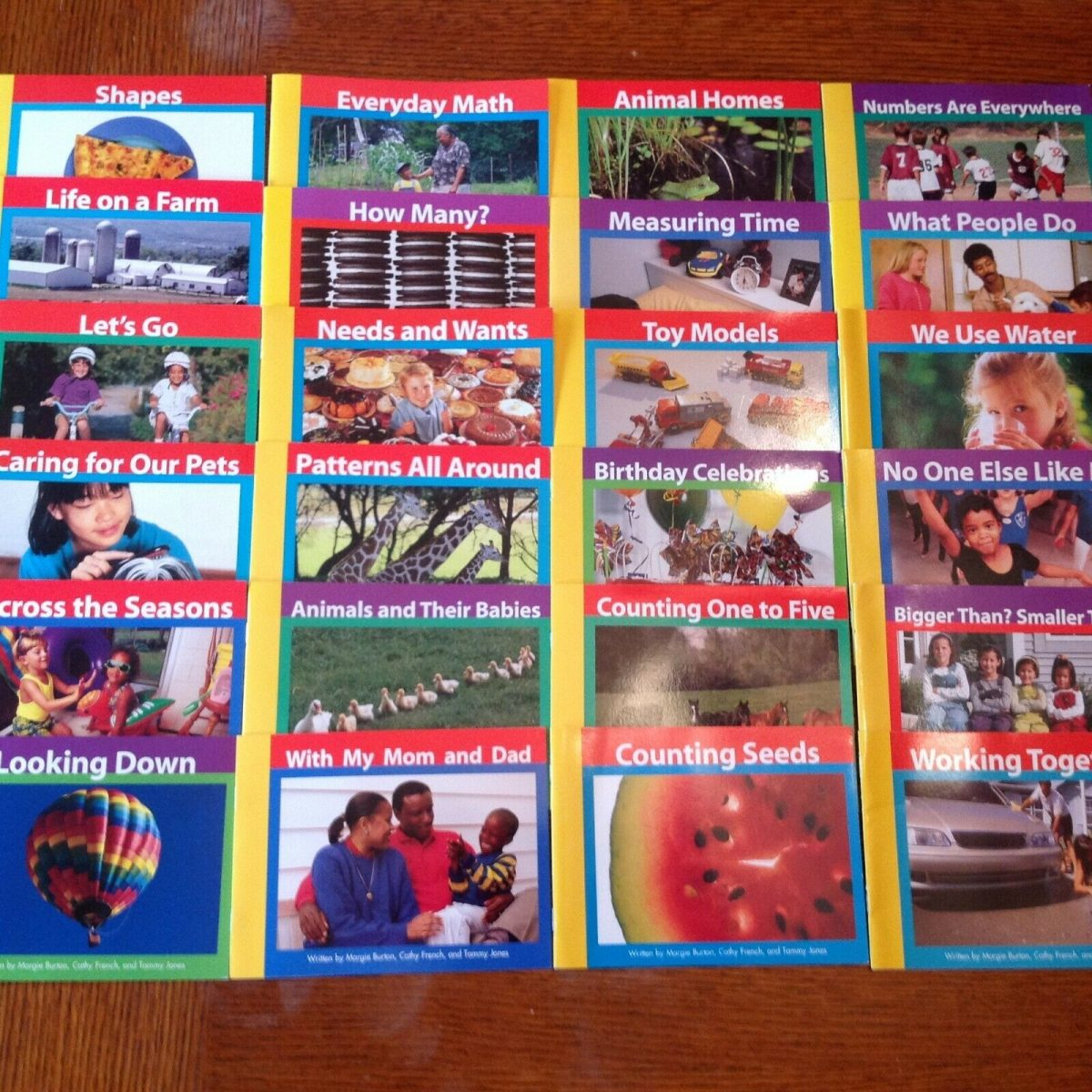 Lot of 24 Benchmark Education Early Connections (K-1) Early Readers