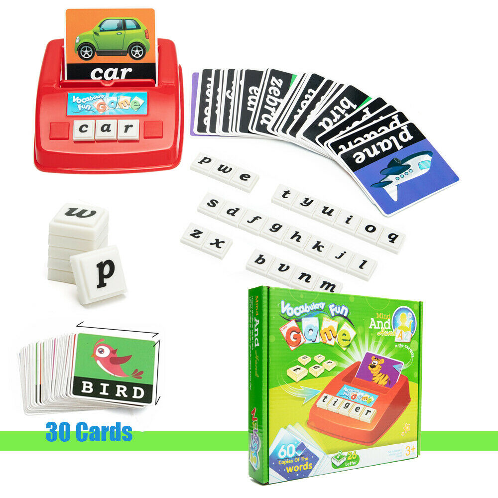 English Spelling Alphabet Letter Game Early Learning Educational Toy Kids Spell 1