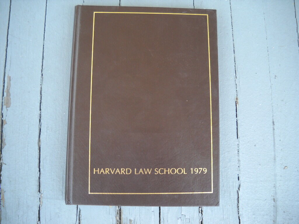 Vintage 1979 Harvard Law School College Yearbook 1