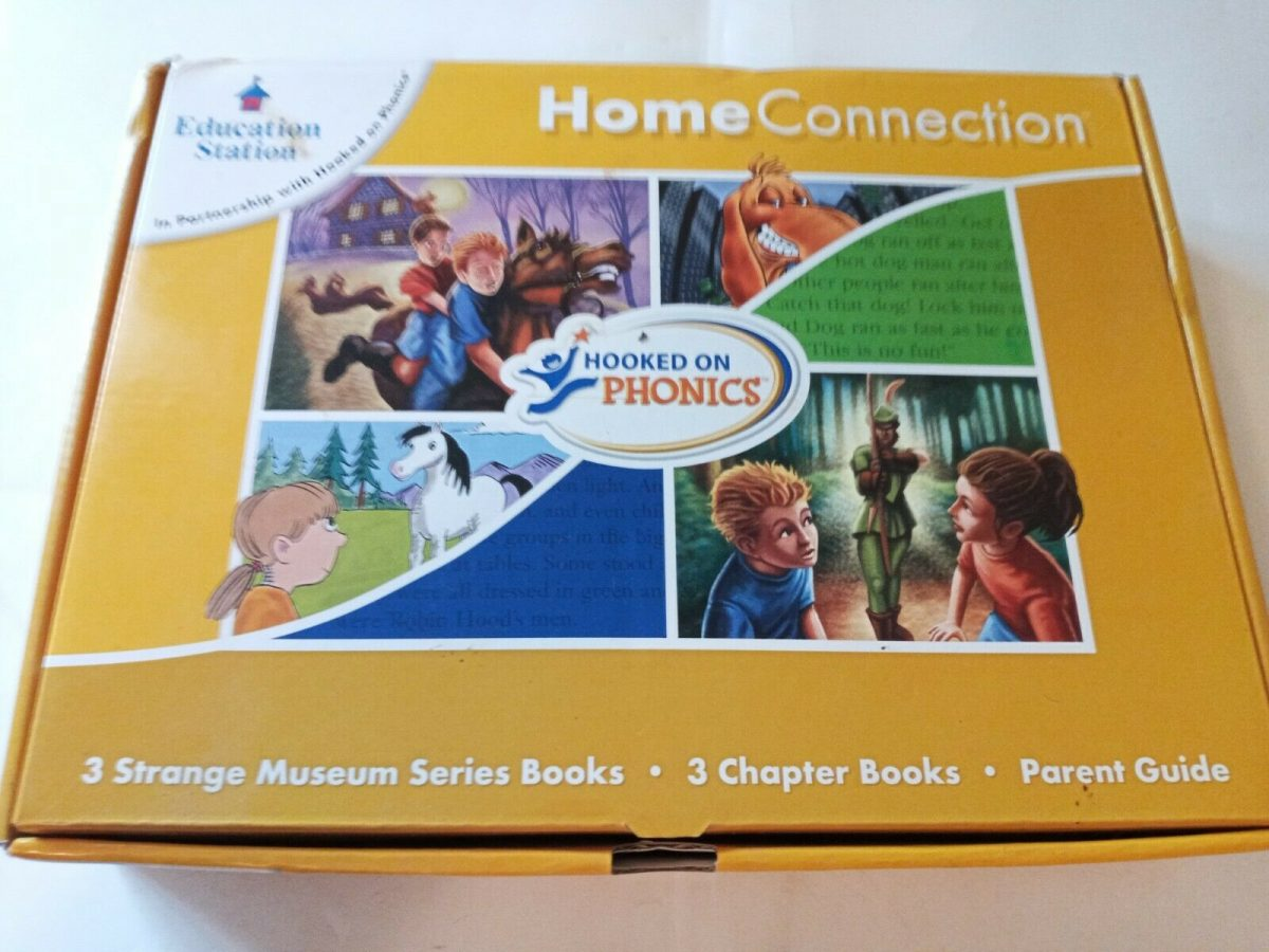 Education Station Home Connection Hooked on Phonics