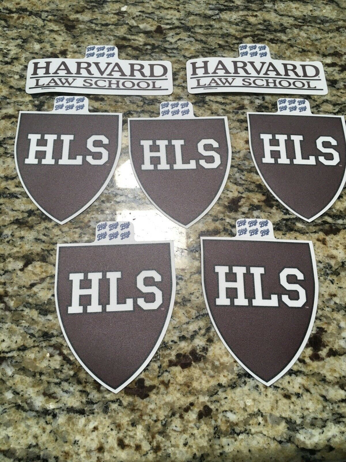 Harvard Law School Stickers - Decals (7) 1